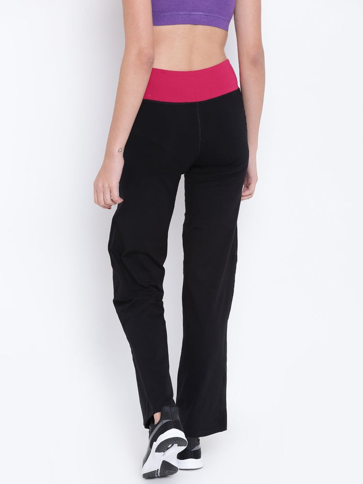 Womens Organic Cotton Stretch Yoga Pants-Spirited Yoga Pants - mysoulspace.in
