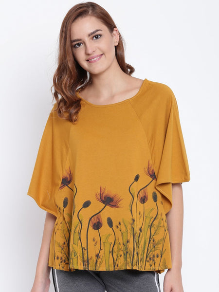 Womens Organic Cotton Modal Blended Top-Mould Top