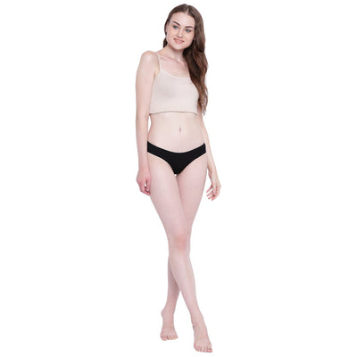 Womens Organic Cotton  Low Rise Bikini Brief - mysoulspace.in