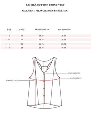 Kritika-FRONT BUTTON VEST