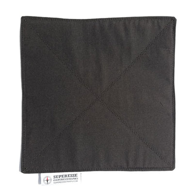 Survival Handkerchief-Filter Bandana: Water Pre-Filtration and Air-Contaminant Face Barrier.