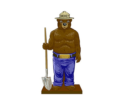2D 6 ft. Smokey Bear Only