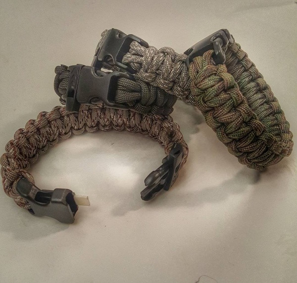 Survival and Tactical Bracelets-Scout Slimline
