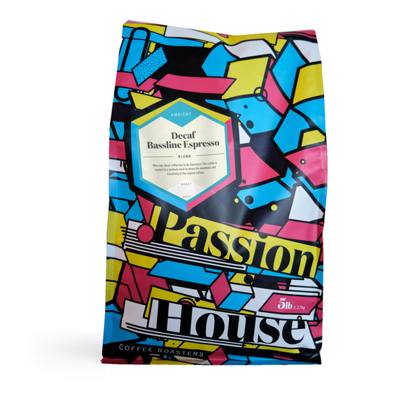 Passion House - Decaf Bassline Espresso Blend (5lbs)