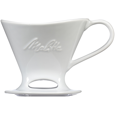 Melitta - Pour-Over™ Porcelain 1-Cup Coffee Maker