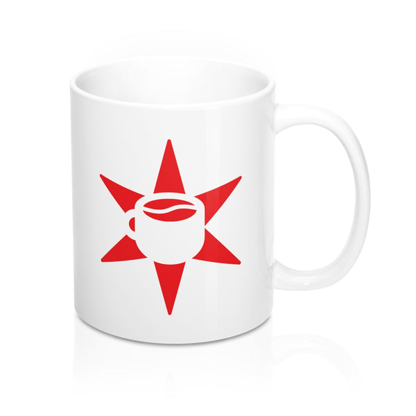 Chicago Star & Cup Logo Mug 11oz (Red)
