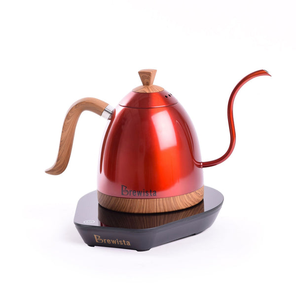 Artisan 600mL Gooseneck Variable Temperature Kettle - Red