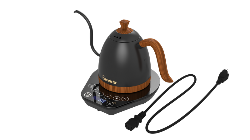 Artisan 600mL Gooseneck Variable Temperature Kettle - Gunmetal Grey