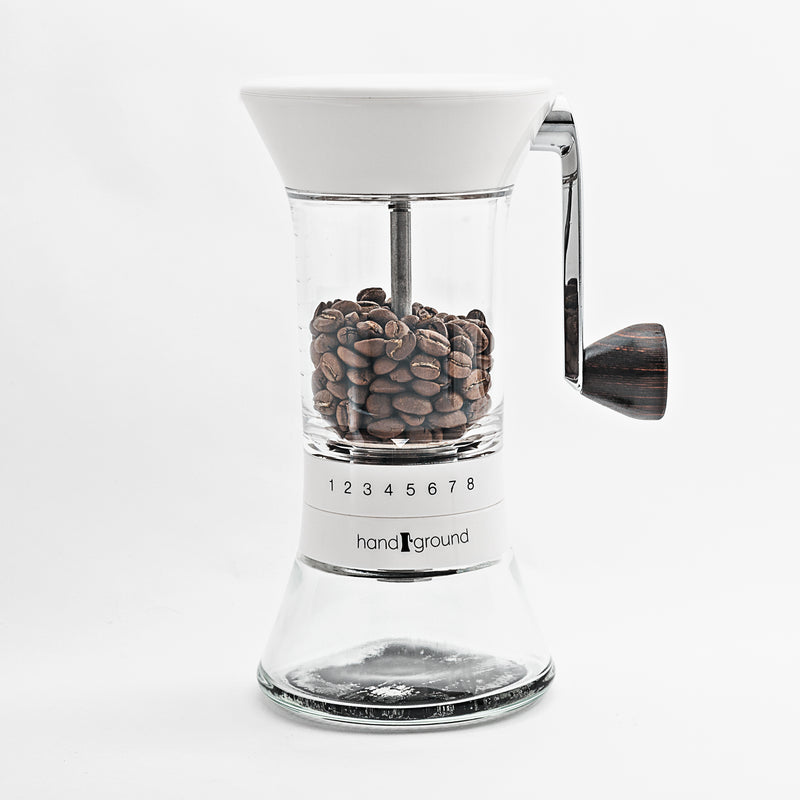 Handground Precision Manual Coffee Grinder (White)