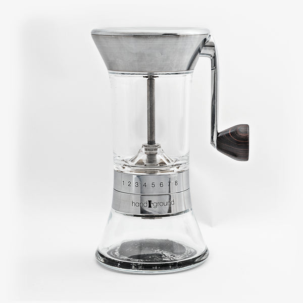 Handground Precision Manual Coffee Grinder (Nickel)
