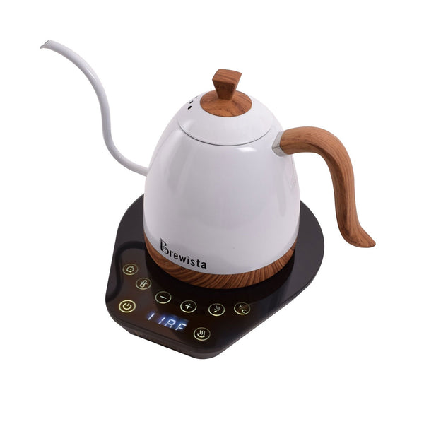 Artisan 600mL Gooseneck Variable Temperature Kettle - Pearl White
