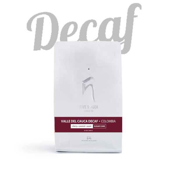 Five & Hoek - Decaf Colombia Valle Del Cauca (Sugarcane Processed)