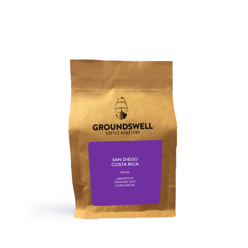 Groundswell Coffee - San Diego Costa Rica