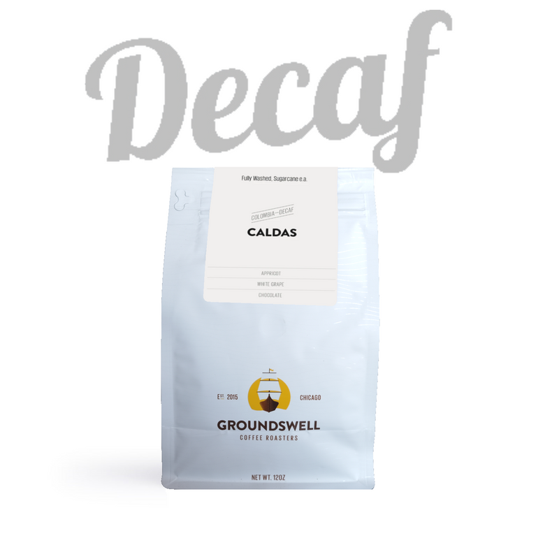 Groundswell Coffee - Caldas Colombia Decaf