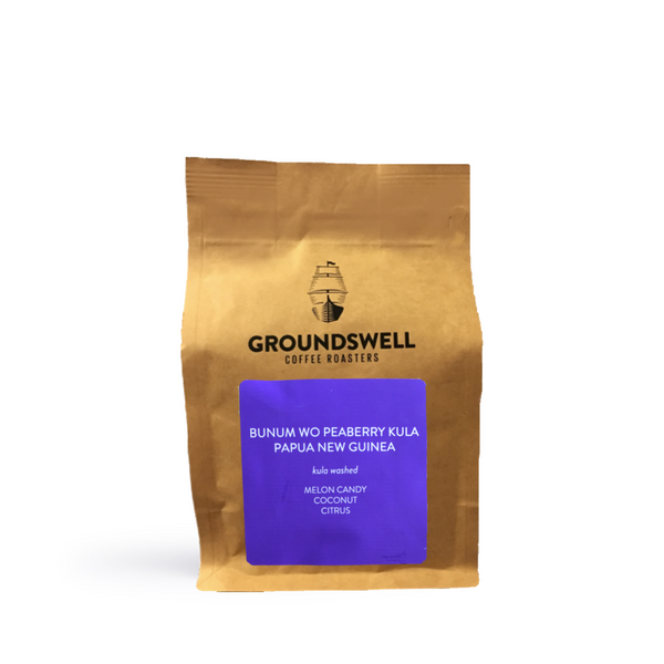 Groundswell Coffee - Bunum Wo Peaberry Kula