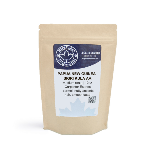 Maple Leaf Coffee - PNG Sigri Kula AA