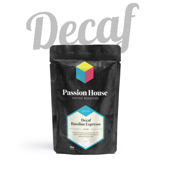 Passion House - Decaf Bassline Espresso Blend