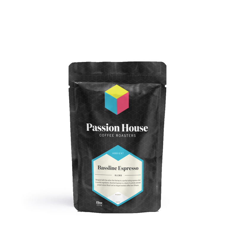 Passion House - Bassline Espresso Blend (5lbs)