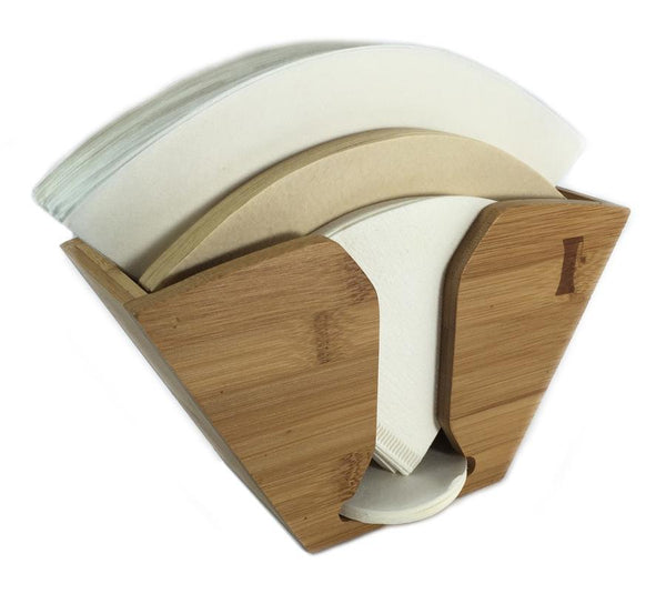 Handground Bamboo Coffee Filter Holder