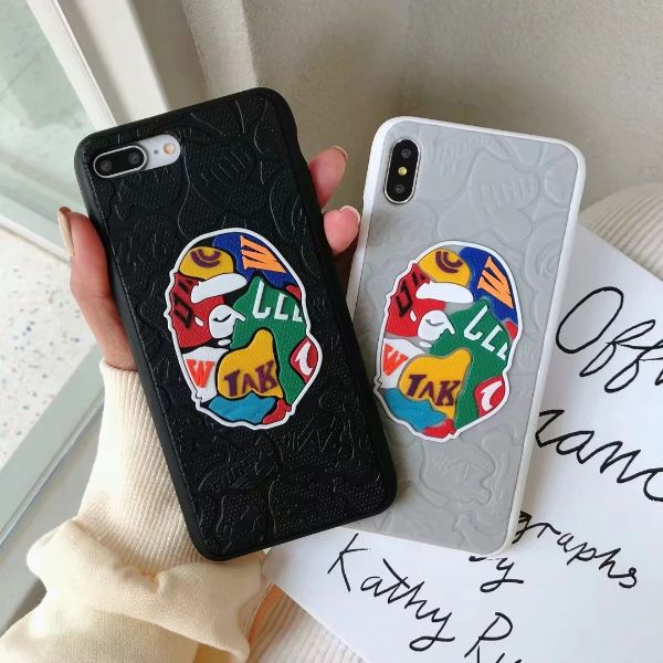 Bape human head phone case - ihype cases