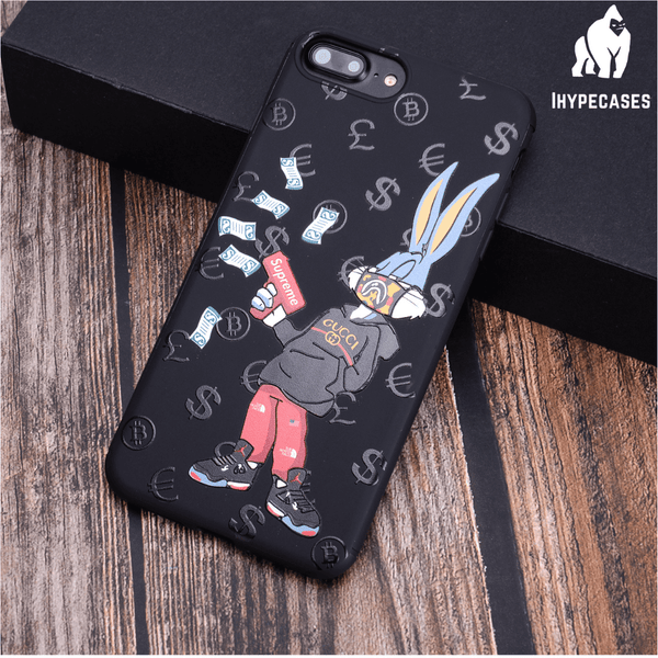 """""""BUGS BUNNY"""" GG X SUPREME IPHONE CASE"""