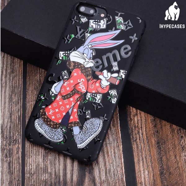 Supreme louis vuiton bugs Bunny Phone Case - ihype cases
