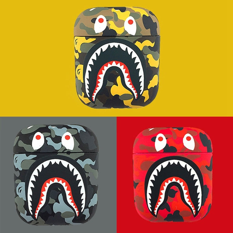 Bape Shark Airpod Cases