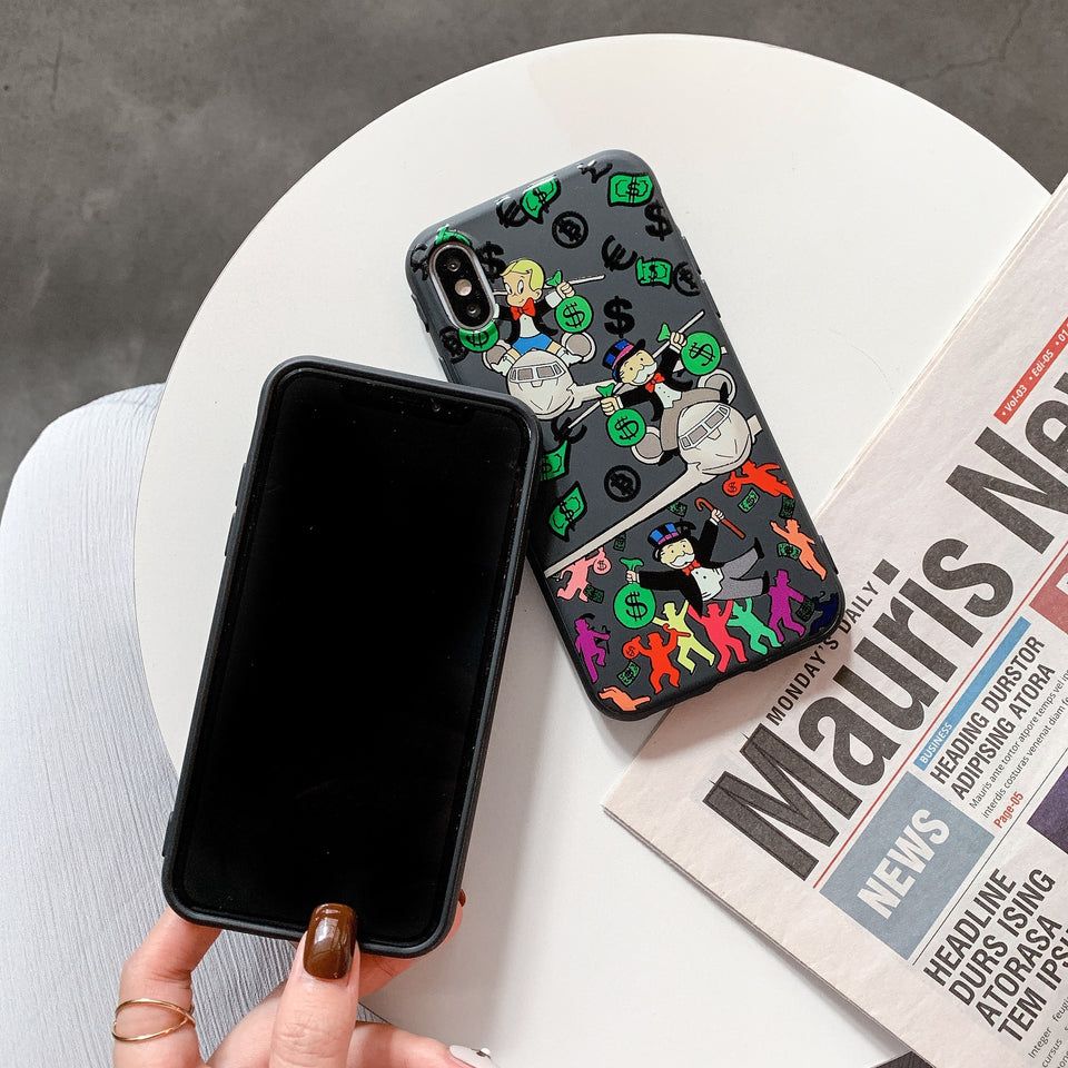 supreme monopoly iphone case - ihype cases