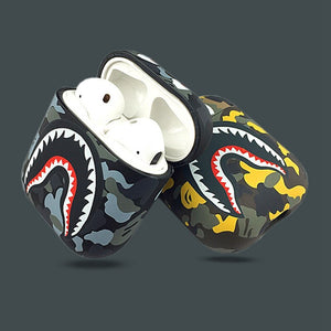 Bape® Camouflage Shark Airpods 1&2 Cases