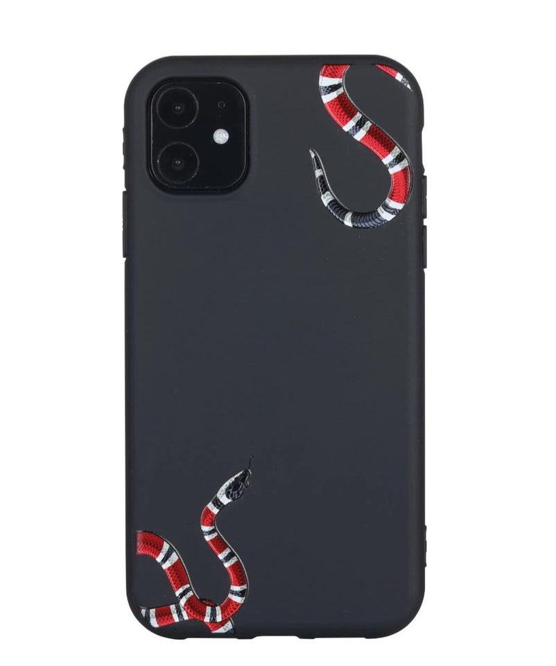 "Gucci ""Black"" Kingsnake iPhone 11 Case"