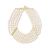 Five-strand pearl Necklace