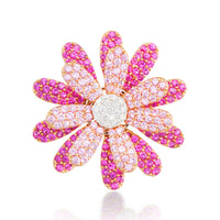 Daisy Flower Earring Pink