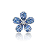 Flower Earring Blue