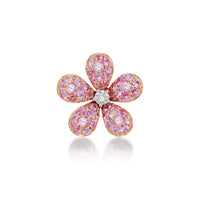 Flower Earring Pink