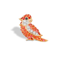 Little Bird Earring Orange