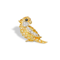 Little Bird Earring Yellow