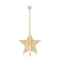 Ornament Star Earring