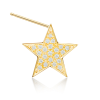 Star Earring Sideways(L)