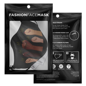 Queens Against Racism Face Mask