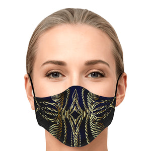 Thorns of Gold Face Mask