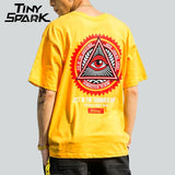 Triangle Eye T Shirt Homme