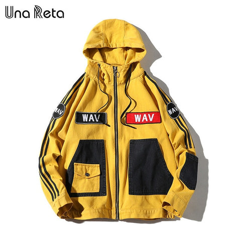 Fashion hip hop jacket