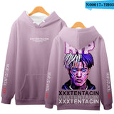 LUCKYFRIDAYF XXXTENTACION 3D Printed Hoodies Men/WomenFashion Long Sleeve Hooded Sweatshirts 2019 Hot Sale Casual Hoodies