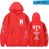 Dropshipping BTS Bulletproof Juvenile Group G Hoodies New Album Love Yourself With Fund Even Midnight Respond To Aid Service