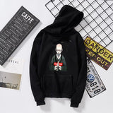 Buddhist monk printed red pink grey black white hoodies women autumn detroit become human stitch friends harry styles k pop top