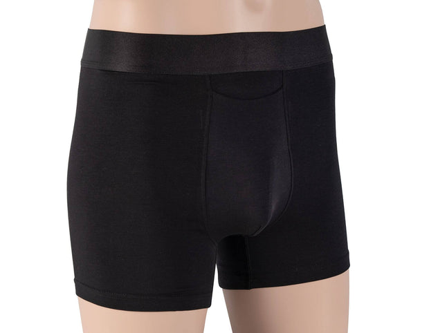 Boxer Brief - Supima Cotton - Black