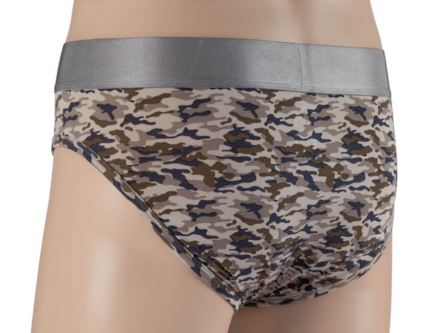 Brief - Pack of 3 - Tencel Lyocell Celebration, Zebra and Camo
