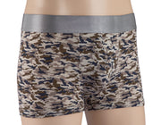 Trunk - Pack of 3 - Tencel Lyocell Camo, Zebra and Supima Cotton Grey