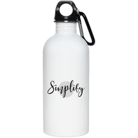 Simplify 20 oz. Stainless Steel Water Bottle