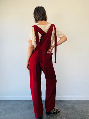 Chloe Slouchy Overalls